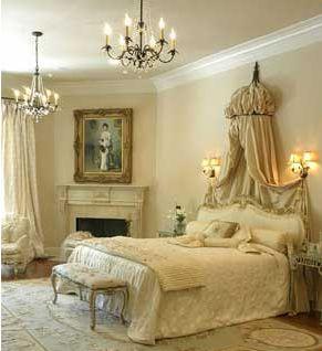 Romantic Bedroom Design Light